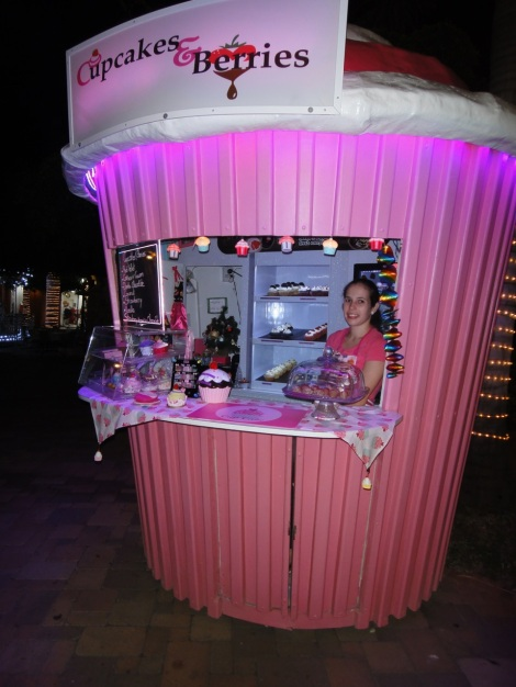 Cupcakes at Paseo Herencia Mall, Aruba