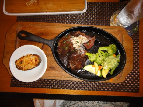 Tenderloin Platter, the Kitchen, Aruba.