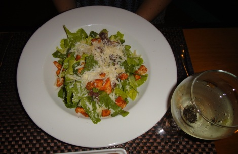 Chef Salad at The Kitchen, Aruba