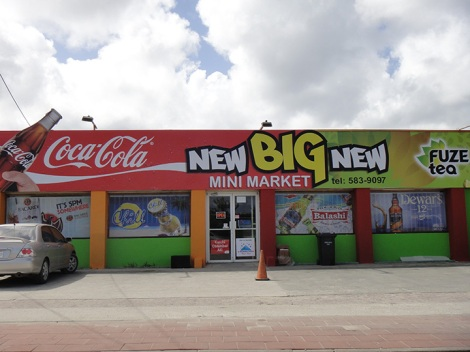 The NEW BIG NEW MINI market. Huh?