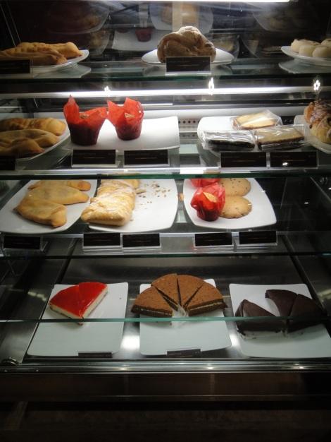 Treat case at Juan Valdez Coffee, Aruba.