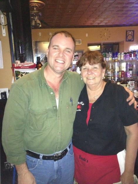 Dan and Sandy at Bonk's