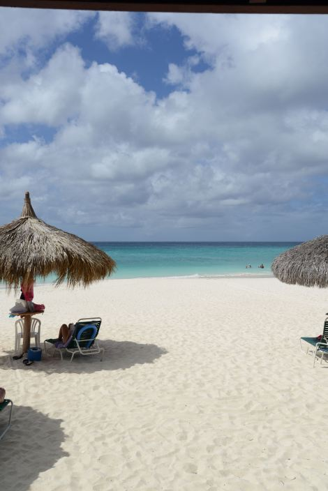 Beautiful Beach in Aruba.