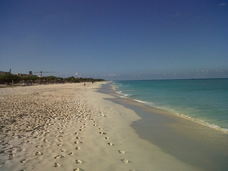 Eagle Beach, Aruba, November 2013.