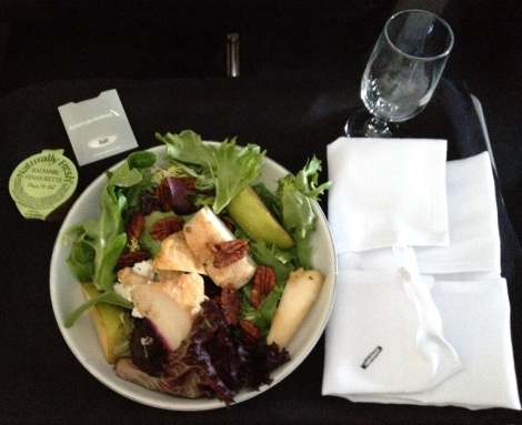 American Airlines chicken salad.
