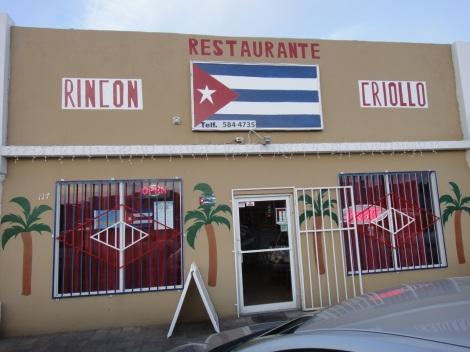 Rincón Criollo restaurant, Savaneta, Aruba.