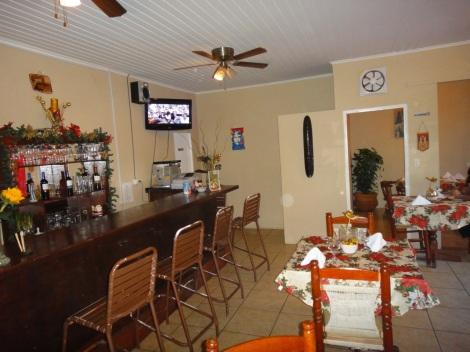 Interior, Rincón Criollo restaurant, Savaneta, Aruba.