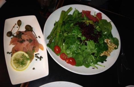 Classic Diner (Malvern, PA) spinach salad.
