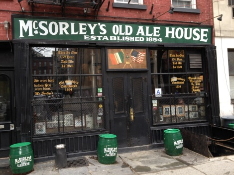 McSorely's Old Ale House, New York City, USA.