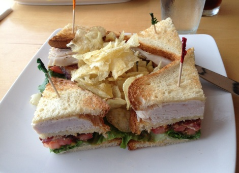 Turkey Club at The Continental, Philadelphia.