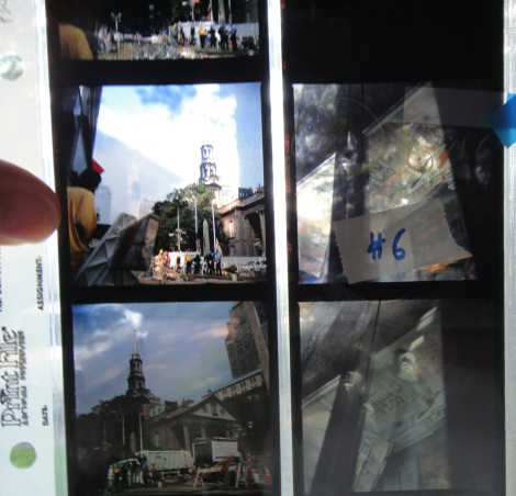 Archive page of photos from 11 September disaster.