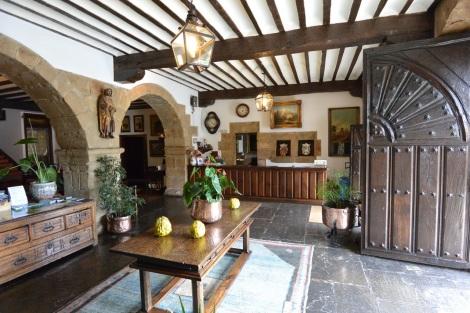 Reception are at Hotel Museo Los Infantes, Santillana del Mar, Spain.