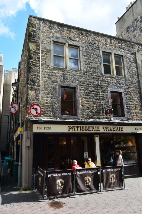 Patisserie Valerie, Edinburgh, Scotland.