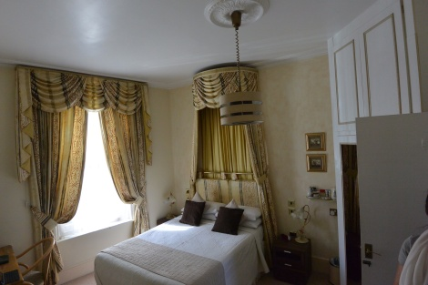 Emma Suite at Clarence Hotel, Windsor, England.