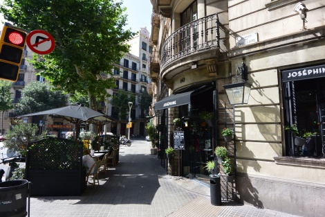 Joséphine, located on Pau Claris, Barcelona, Spain.