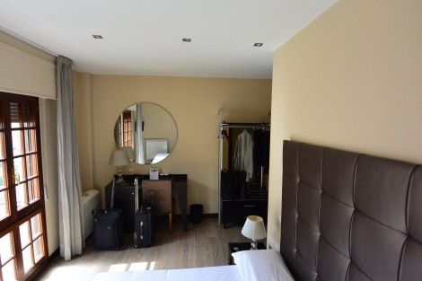Other view of standard room at Hotel del Pamplona, Pamplona, Spain.