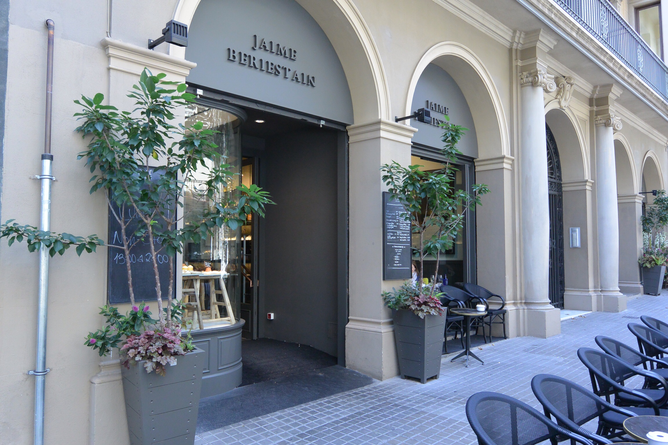 jaime beriestain restaurant barcelona spain