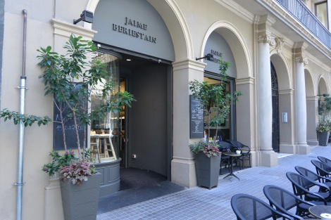 Jaime Beriestain Restaurant, Barcelona, Spain.