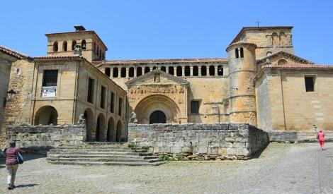 Collegiate Church of Santillana del Mar, Spain.
