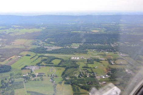 Arner Memorial Airport (22N) from about 2,000 ft.