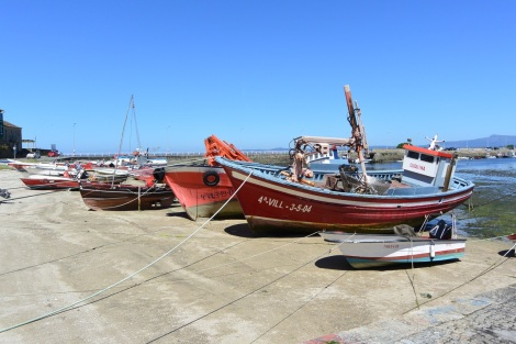 More boats in Cambados, Spain.