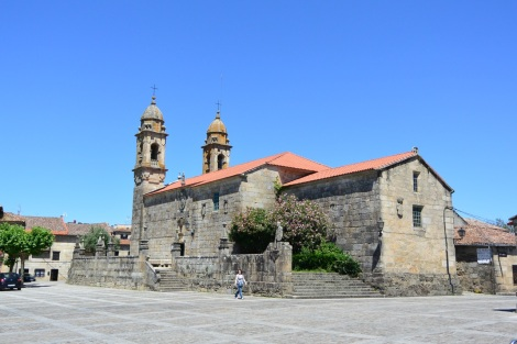 Church in Cambados, Spain.
