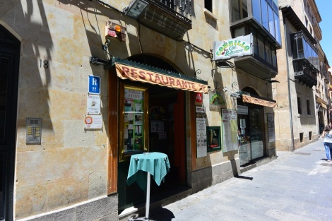 Restaurante Corillo, Salamanca, Spain.