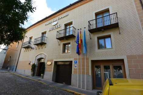 Hotel Palacio San Facundo, Segovia, Spain.