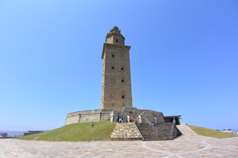 Tower of Hercules, A Coruña, Spain.