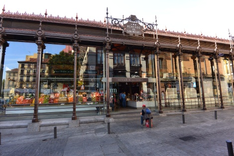Mercado San Miguel, Madrid, Spain.