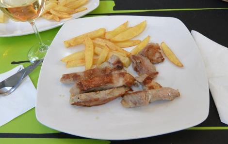 Lunch at Esquina de Miega, Cambados, Spain.