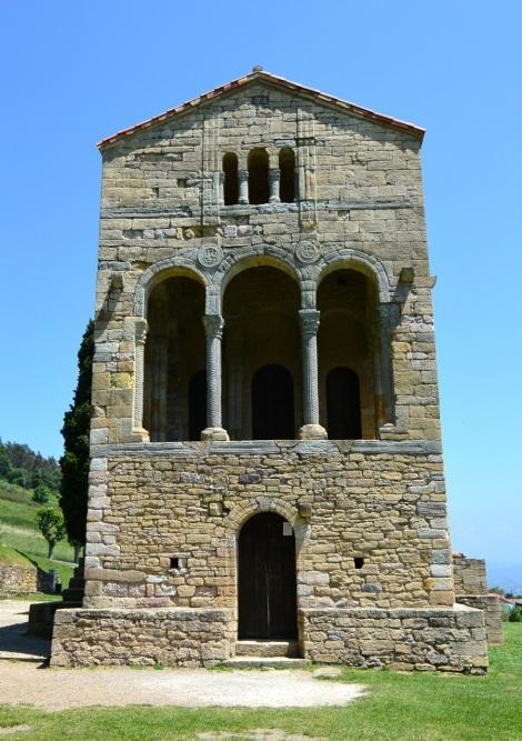 Santa María del Naranco, Oviedo, Spain.