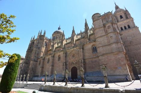 Catedral Nueva, Salamanca, Spain.