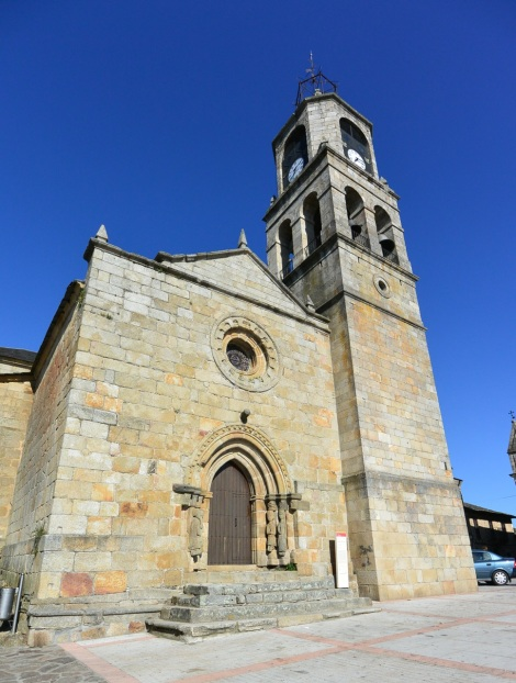 Church in Puebla de Sanabria, Spain.