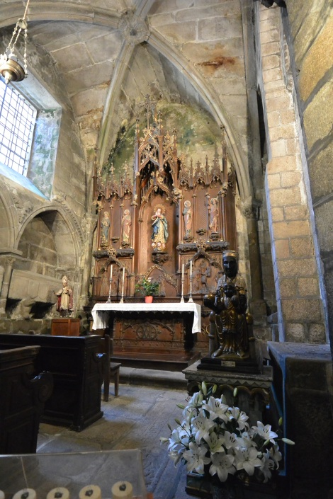 Chapel within the Cathedral of Santiago de Compostela, Spain.