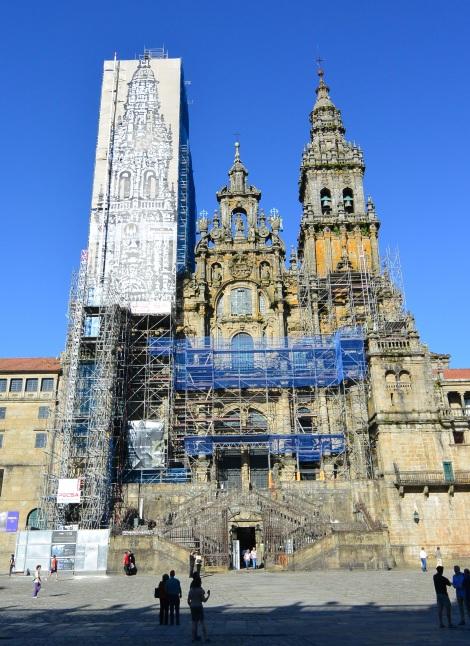 Cathedral of Santiago de Compostela, June 2014.