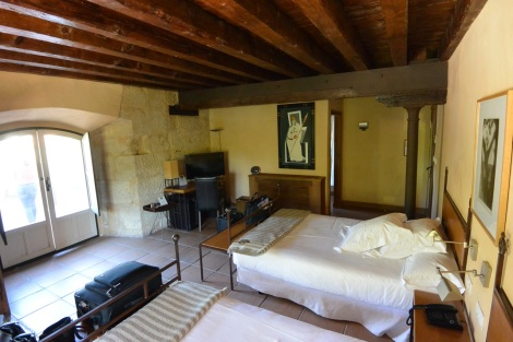 Standard room at Hacienda Zorita, Valverdón, Spain.
