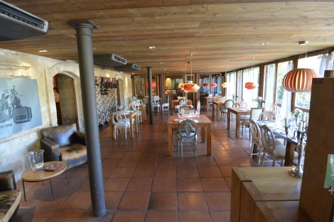 Restaurant at Hacienda Zorita, Valverdón, Spain.