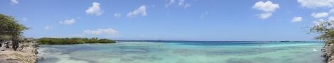 View of Mangel Alto, Aruba, DWI.
