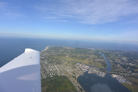 Cape May, NJ from about 2,500 feet.